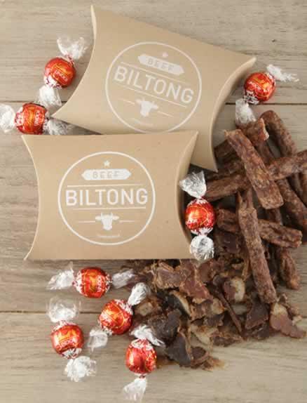 Gift Box of Biltong and Chocs