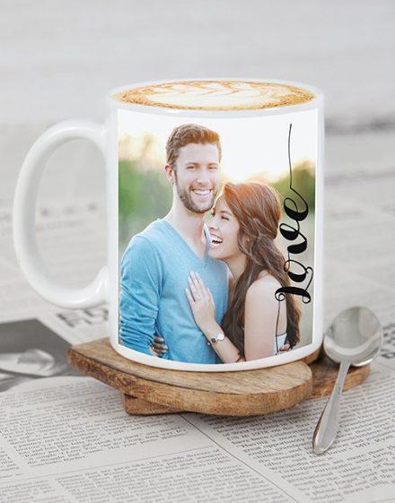 Personalised Love Photo Mug