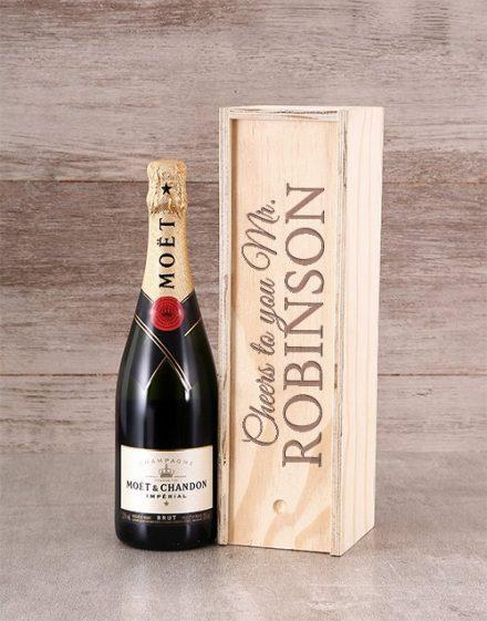Personalised Moet Champagne